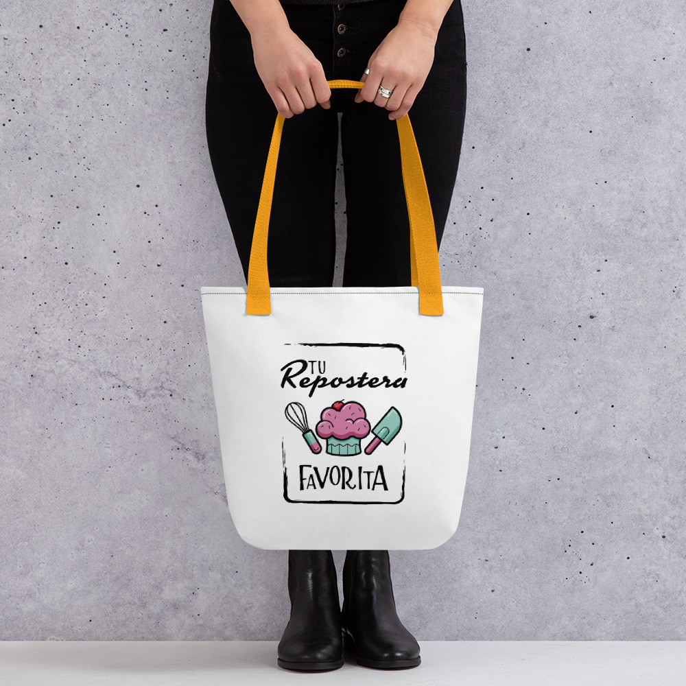 "Tote Bag ""Tu Repostera Favorita"""