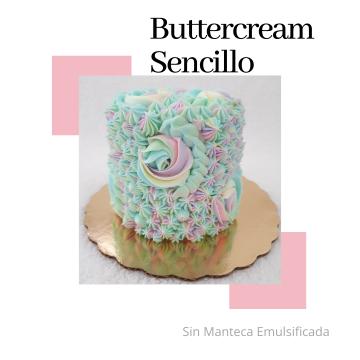 Buttercream Sencillo
